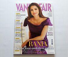 Queen Rania of Jordan Italian Vanity Fair Magazine October 2009 New