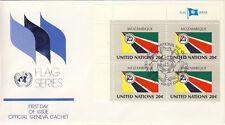 Ersttagsbrief UNO New York MiNr. 401, Flaggen der UNO-Mitgliedsstaaten (III)