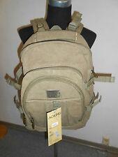 20 3501 AERLIS Herren Rucksack Tasche kakhi beige Bag Trekking Segeltuch NEUWARE