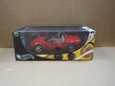 Hot Wheel Corvette C6 RED 1:18 Convertible