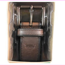"""F64828 Coach 1-1//8/"""" Signature Leather Reversible CUT TO SIZE Belt Black Charcoal"""