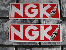 Aufkleber Sticker NGK Tuning Racing Motorsport Biker-MC Autosport Race GT FX GTI