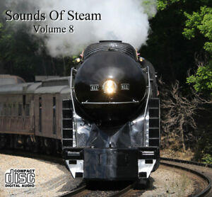 Train Sounds On CD: Sounds Of Steam, Volume 8