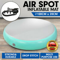 100*20CM Inflatable Air Track Spot Exercise Gym Gymnastics Tumbling Round