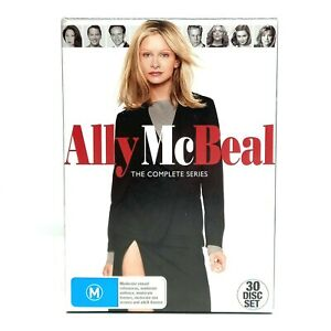 Ally McBeal Season 1-5 DVD 30 Disc Box Set PAL - DISCS IN LIKE NEW CONDITION