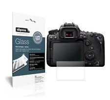 2x Canon EOS 90D Schutzfolie matt - Anti-Shock 9H Folie dipos Glass