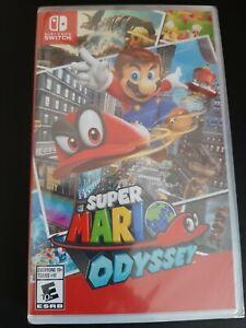 Super Mario Odyssey Nintendo Switch New Factory Sealed