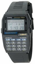New Casio Men's DBC150-1 Databank Digital Watch Databank Telememo