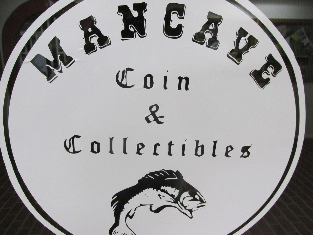 MANCAVE COIN & COLLECTIBLES SHOP