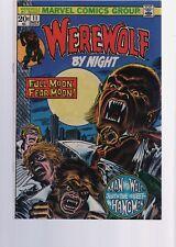 WEREWOLF BY NIGHT 11   / 1970S CLASSIC HORROR  SERIES  /  MARVEL COMICS