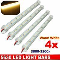 12V 5630 Led Strip Lights Waterproof Bar Warm White Lamp Camping Caravan Boat
