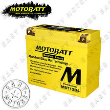 BATTERIA MOTOBATT MBT12B4 DUCATI MONSTER IE 750 2000>2001