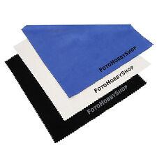 3 x Reinigungstuch Microgewebe 15 x 18 cm für Foto Optik