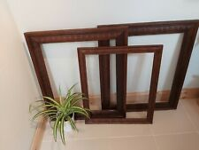 More details for reclaimed victorian carved oak picture frames ☆ courier collection accepted