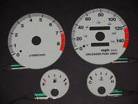PerFormax Glow Dash Gauge Face 1994-99 Acura Integra LS/RS Manual Trans EL9499IM