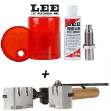 LEE 2 Cavity Mold & Sizing and Lube Kit for 9mm Luger/ 38 Super/ 380 ACP # 90305