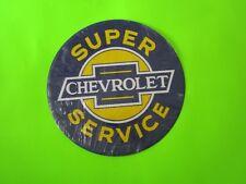 tin metal dealership home garage repair shop man cave decor chevy chevrolet