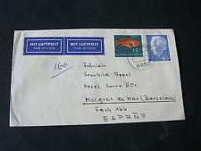 Bund, Lupo-Brief nach Barcelona aus 1964, Fotos anschauen