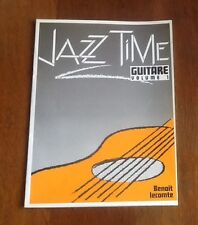 1 PARTITION JAZZ TIME GUITARE vol 1 Benoit Lecomte Transatlantiques