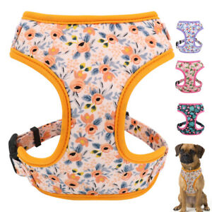 Soft Fabric Mesh Dog Pet Doggy Walking Vest Harness for French Bulldog Schnauzer