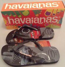 aaf0eef5014db Havaianas H. K. Cars Black Flip Flops - Brand New - Size 33 34 (UK