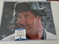 Randy Quaid Christmas Vacation autographed signed 11x14 Photo BECKETT  BAS NEW