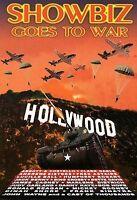 Showbiz Goes To War - DVD - Black & White Color Ntsc Brand New!