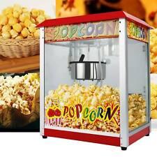Pop Corn Maker Popcorn Machine Commercial Kitchen Cinema Party Snack Furniture