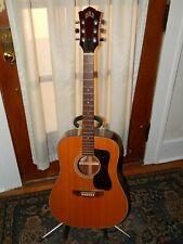 Vintage Guild D-35 guitar - 1979 - Excellent Condition - with Tkl hardshell case
