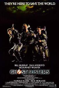 Ghostbusters Movie POSTER 27 x 40 Bill Murray, Dan Aykroyd, Sigourney Weaver, A