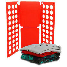 Kids Easy Magic Clothes Folder T Shirt Jumpers Organiser Fold Suitcase Laundry