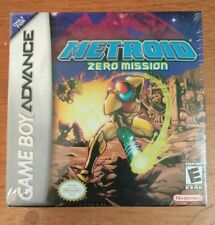 GBA METROID ZERO MISSION NINTENDO NEW FACTORY SEALED MINT RARE! Game Boy Advance