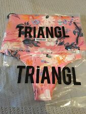 Triangl Brand Swimwear Bikini Bottom & Carry Bag Delilah Rose Brand New Size S