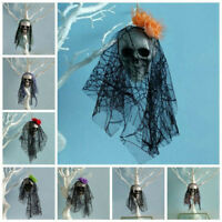 Ghost Head Halloween Hanging Foam Corpse Skull Prop Indoor/Outdoor Party Decor