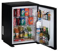Häfele Minibar Kühlschrank schwarz Getränkekühlschrank Hotel 40 Liter A+ lautlos