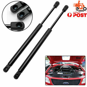 For Ford-250 Pickup Gas Struts Lift Support Spring Shocks Front Hood Bonnets 2PC