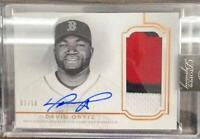 MLB Card 2020 David Ortiz Topps Dynasty Boston Red Sox Auto Patch 02/10