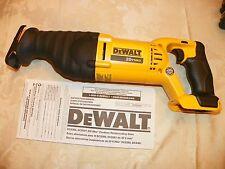 nEW!!!DeWALT DCS381B 20 Volt Max Reciprocating  DCS381  OUT OF KIT