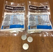 NOS Lot of 20 pcs. BOSS/Bostitch 7/8 Disc Forms Washer Wood To Concrete PFK9007