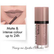 Bourjois Rouge Edition Velvet Matte Lipstick  27 Cafe Ole !   NEW SEALED
