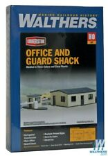 Walthers 933-3517 Office & Guard Shack Kit Office HO Scale Train