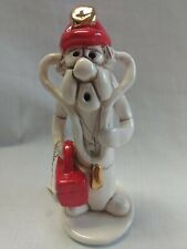Tweeples World by Joe Peck Paramedic Ceramic Figurine Whistle