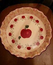 Apple Pie Plate Dish Baker