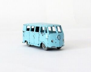Vintage Budgie #12 Volkswagen Micro Bus GRAY WHEELS RARE 1957