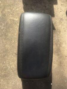 2002/2009 JAGUAR X TYPE Black LEATHER CENTRE CONSOLE  ARM REST