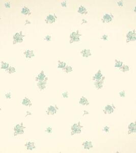 Laura Ashley Abbeville green Eau De Nil fabric **PER METRE**