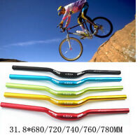 Cycling Mountain Road Bicycle Bike Handlebar Riser Bar 31.8*680/720/740/760/780