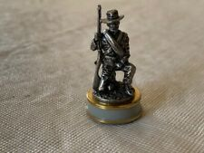 Franklin Mint Civil War Chess Set Confederate Pawn The Stonewall Brigade