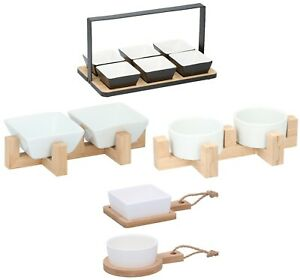 Snack Serving Tray Party Food Nut Tapas Appetiser Condiment Dipping Bowl Dish
