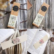 30pcs / lot Marcapáginas chino flor de papel Marcadores señal Marcos escuela